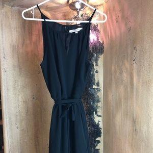 Feminine little black dress